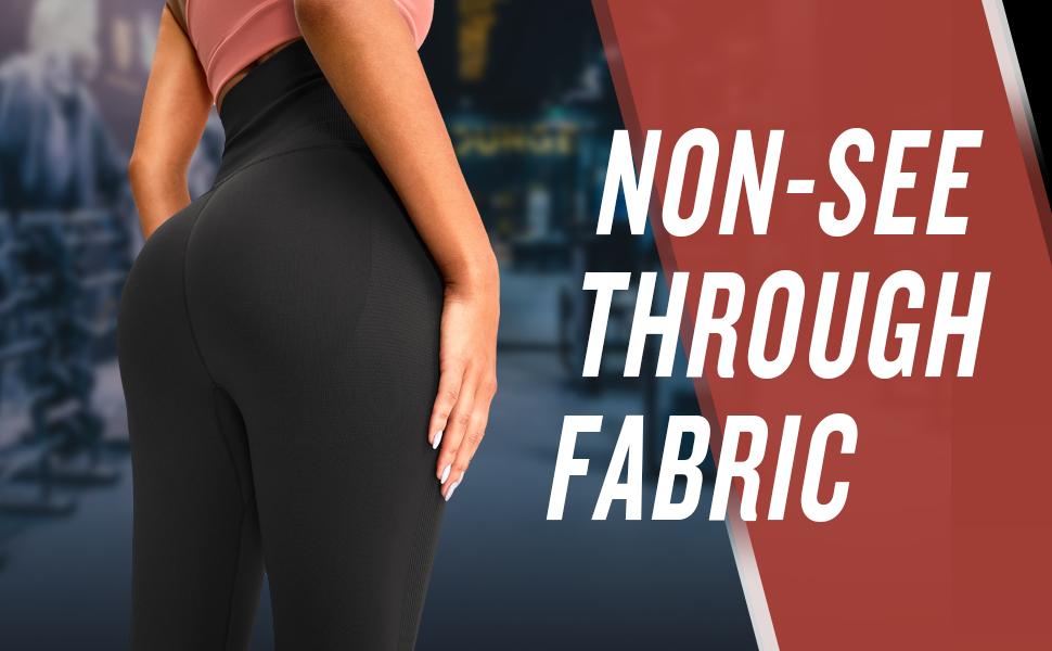 Non-see through fabric
