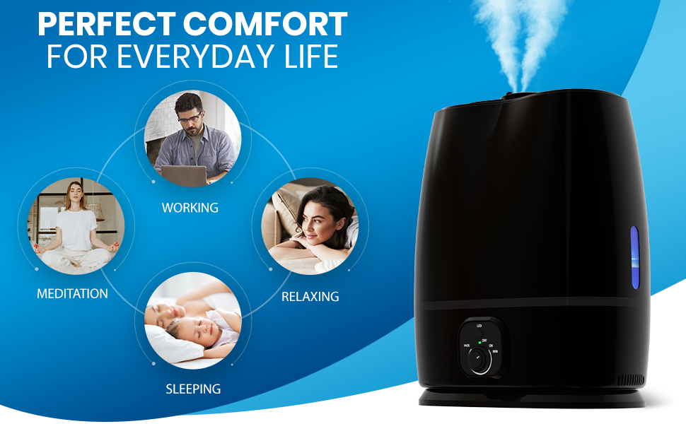 large capacity humidifiers cold humidifiers humidifier large cold mist humidifiers 6l humidifier