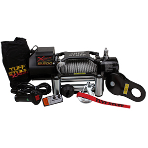 Amazon Com Tuff Stuff Overland 12 500 Lb Winch W 88 Ft Wire Waterproof Xtreme Automotive