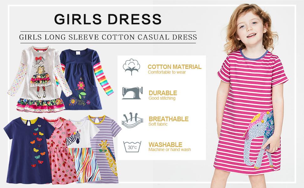 Girls Causal Dress