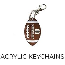 Acrylic Keychains Trend Setters Football