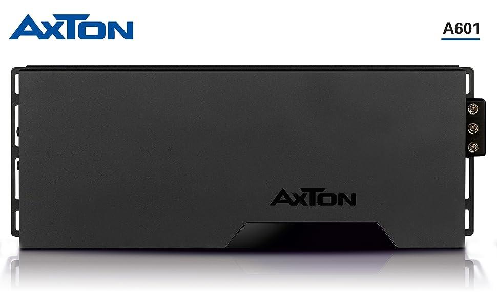 AXTON A601: Leistungsstarker 6-Kanal Digital Verstärker fürs Auto