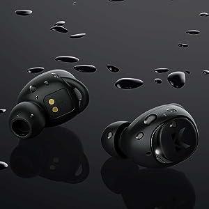 running sport waterproof earbuds bluetooth earphones headphones
