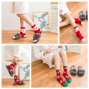 Christmas Fuzzy Socks