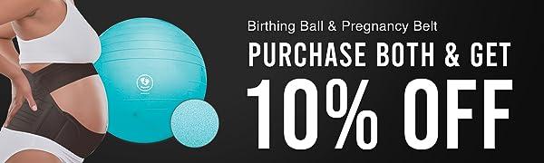 Geboortebal en Zwangerschapsriem