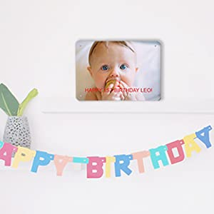 Birthday sign, custom bday sign