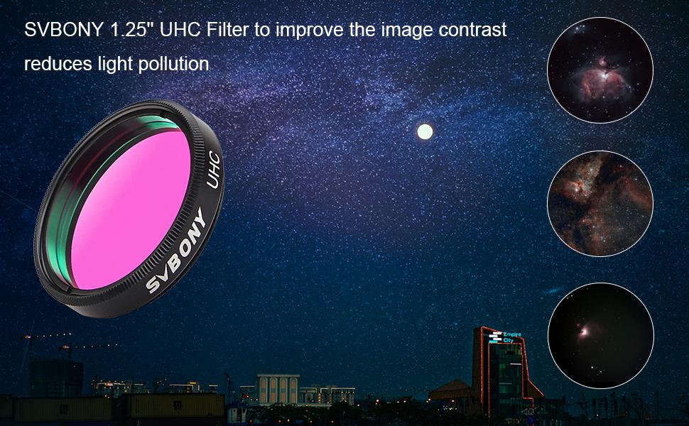 UHC filter