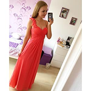 one shoulder gown bridesmaid dresses wedding guest dresses for women formal dresses for women