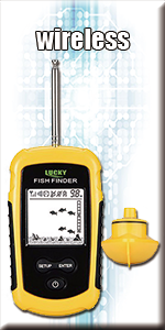 lucky wireless fish finder