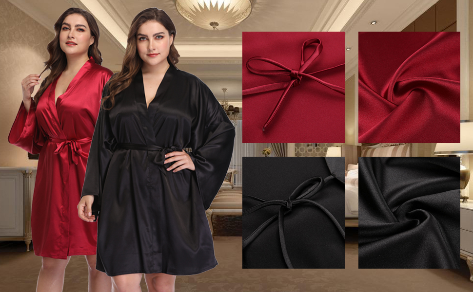 robes for women plus size