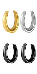 Classic Plugs and Tunnels Ear Gauges