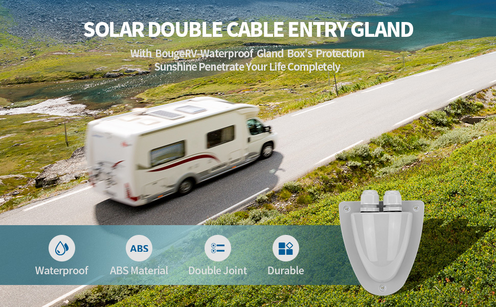 solar cable entry box