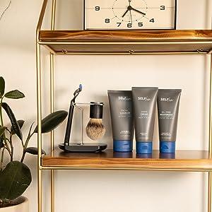 Selfish mens skincare line vitamin boost complex active aid complex anti aging fresh new look skin
