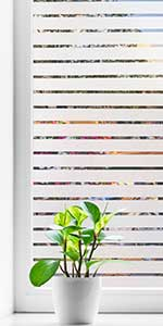 Coavas Frosted Window Film Privacy Blinds Glass Film Decorative Non-Adhesive Static Cling Anti UV