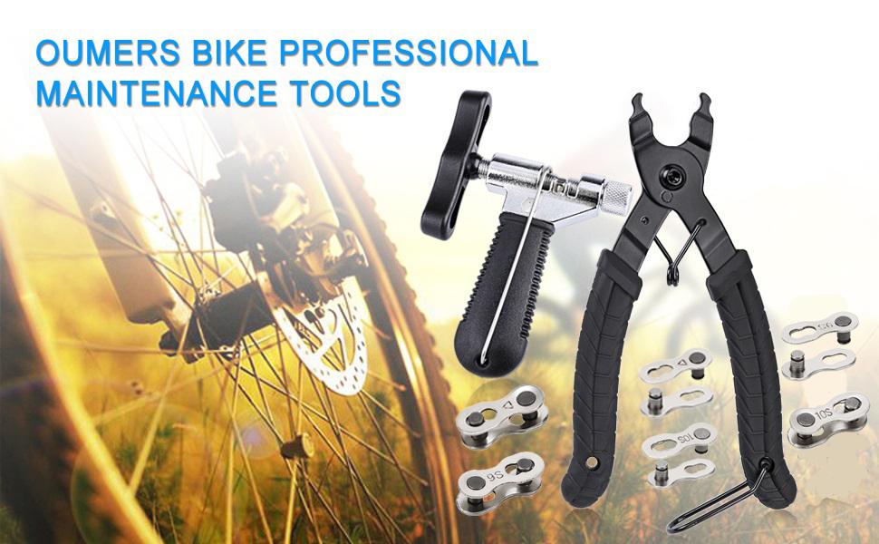 Bike Chain Breaker Splitter Cutter for Bicycle Repair Gadget Accessary Durable
