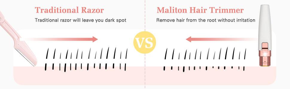 compare with traditional razor