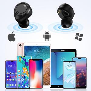 oreillette Bluetooth  ecouteurs bluetooth casque sans fil Bluetooth casque bluetooth sport