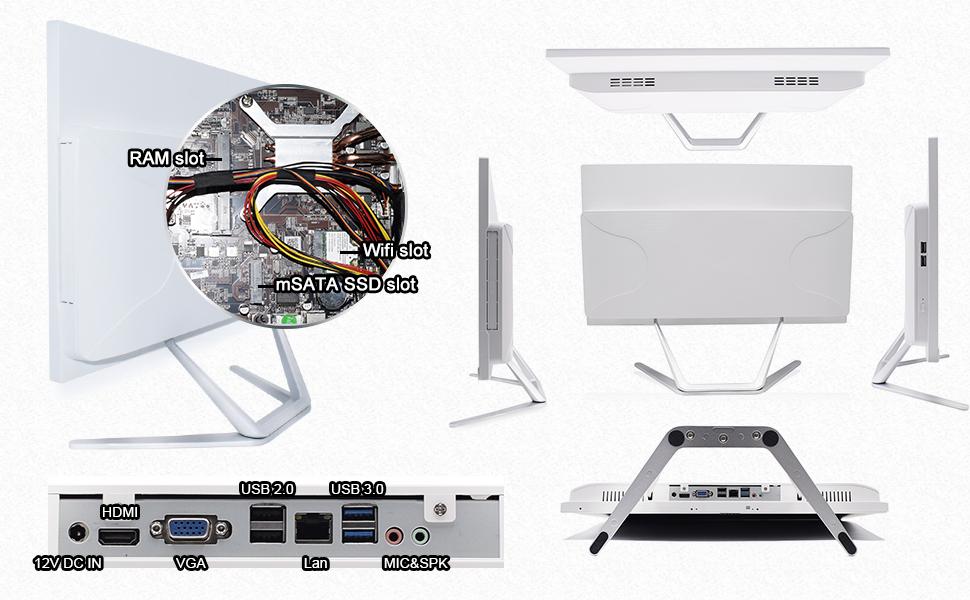 all-in-one PC desktop