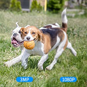 3MP HD Security Camera