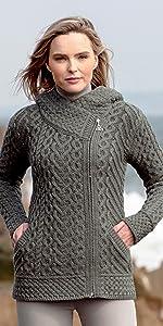 HD4916, Tundra, Aran Crafts, Sweater, Irish