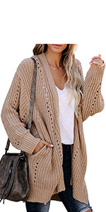 Oversized Cardigan Sweaters