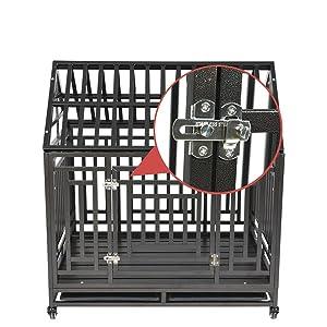 heavy duty dog cage