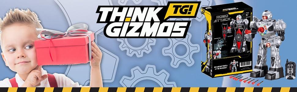 TG630-S - Silver Robo Attack