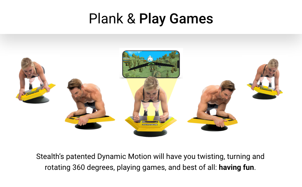Plank and Play Games