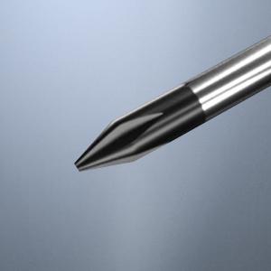 Strong Magnetic Black Oxide Tips