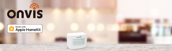 ONVIS HomeKit motion sensor