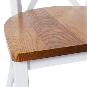 Solid Natural Wood Seat