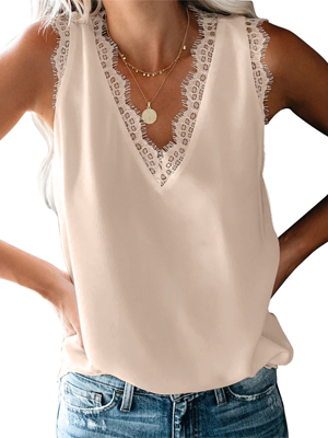 Womens Tank Tops Loose Fit Blouses for Summer