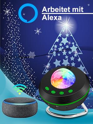 Alexa projecktor lampe