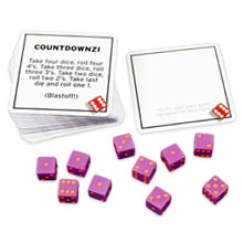 77 ways to play TENZI includes blank cards to write your own rules for the TENZI dice game for party