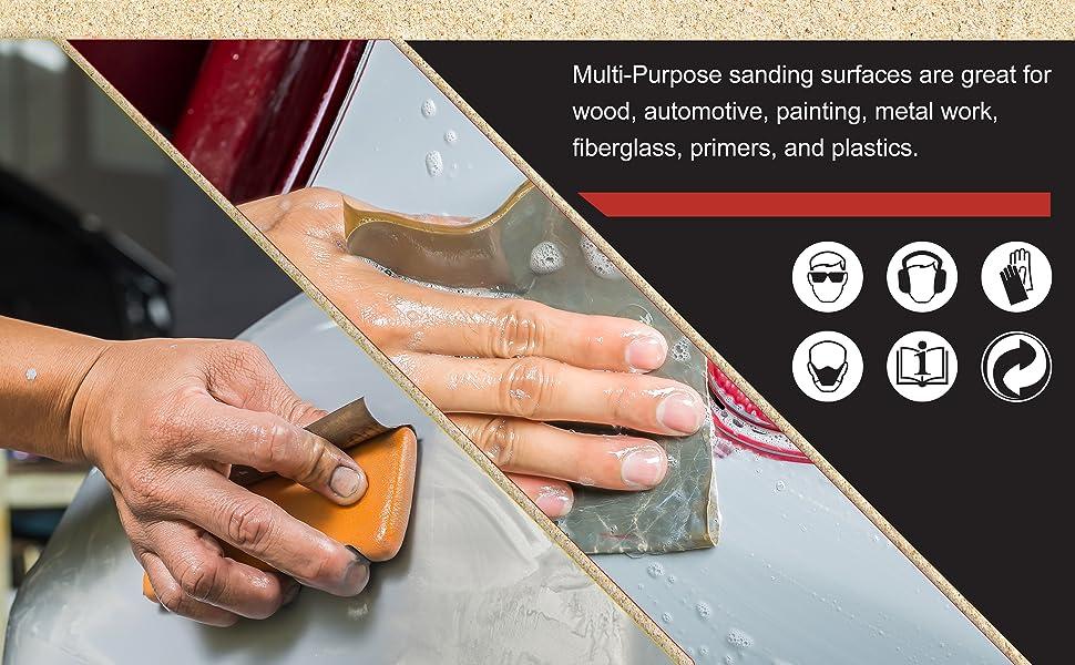 Dura Gold Premium Wet or Dry Sanding Finishing Sheets