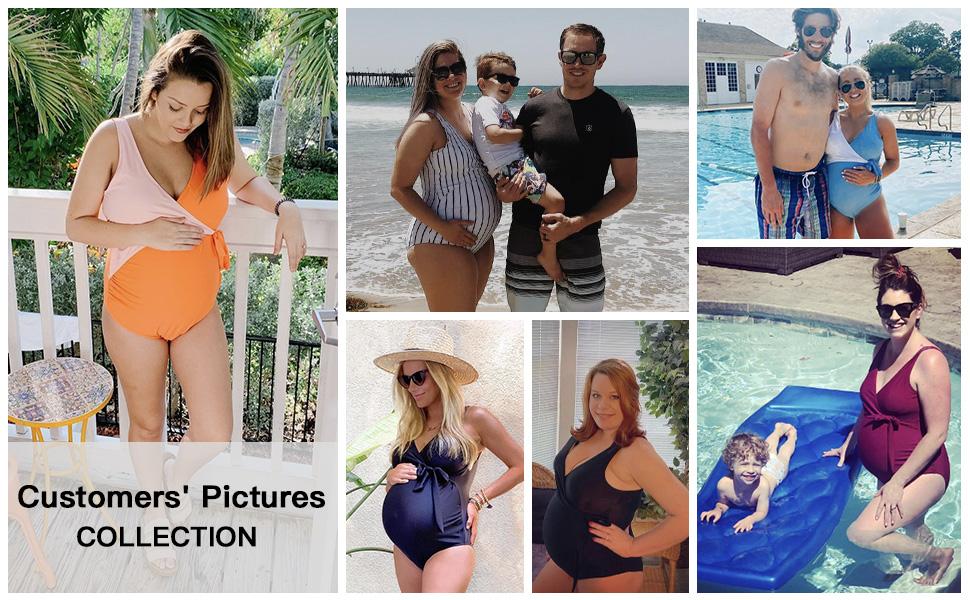 maternity bikini bathing suits