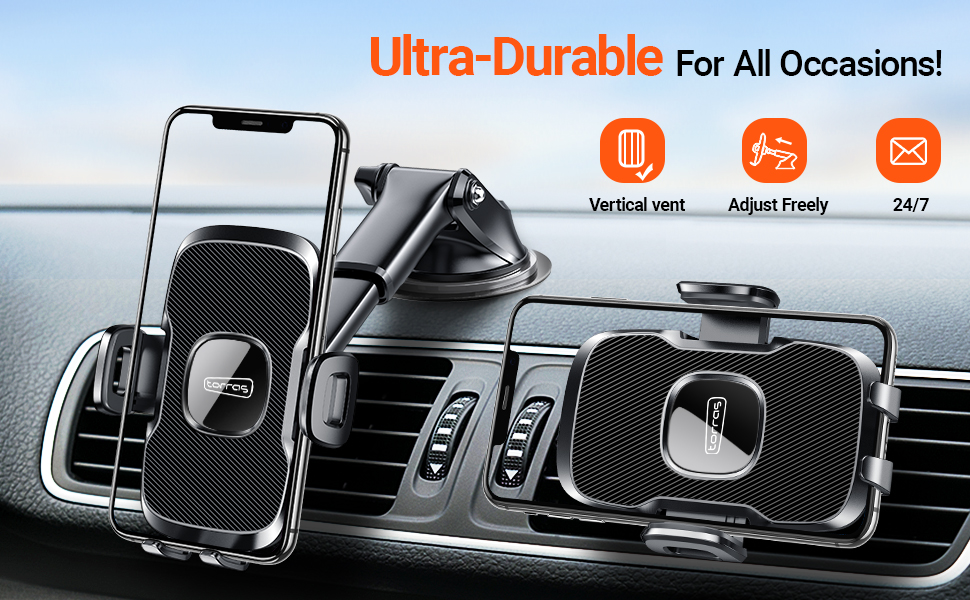 Car Mount iPhone 11 Pro Max XR X Samsung Note 10 Plus 9+ S10 S9 8