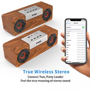 TWS speakers