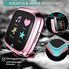 versa 2 cases are scratch and shock resistant