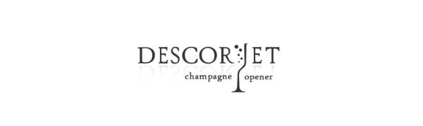 Descorjet champagne bouchon bouteille tire ouvre vin coupe pince griffe bouteilles accessoire cave