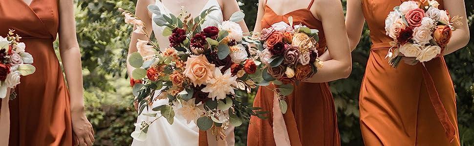 Fall Terracotta wedding