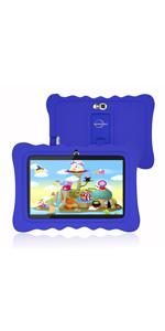 kids tablet blue