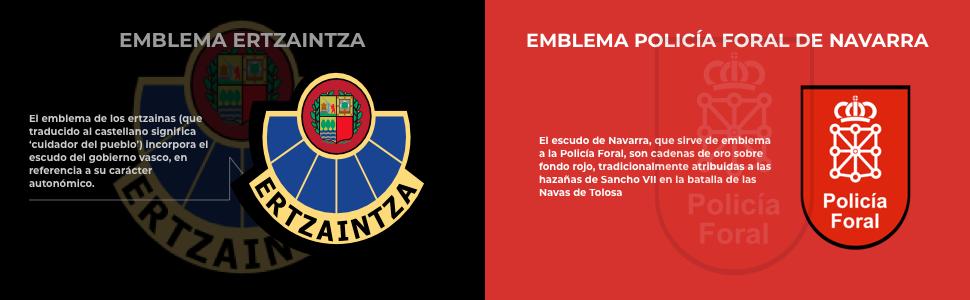Gemelos para Camisa de la Policía Autonómica del País Vasco Ertzaintza: Amazon.es: Ropa y accesorios