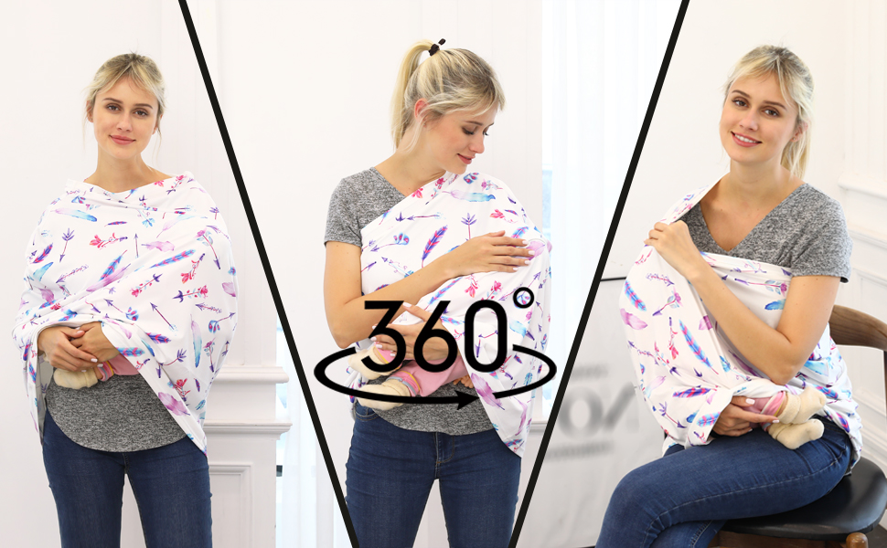 full protection multi-use breastfeeding covers