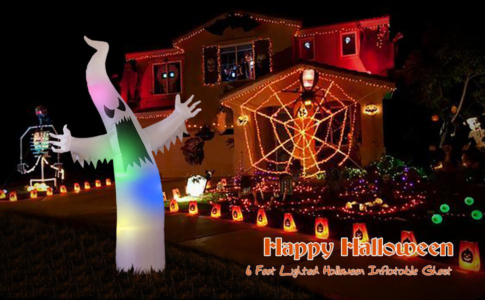 decoration halloween ghost decor yard decoration yard inflatable decorations garden