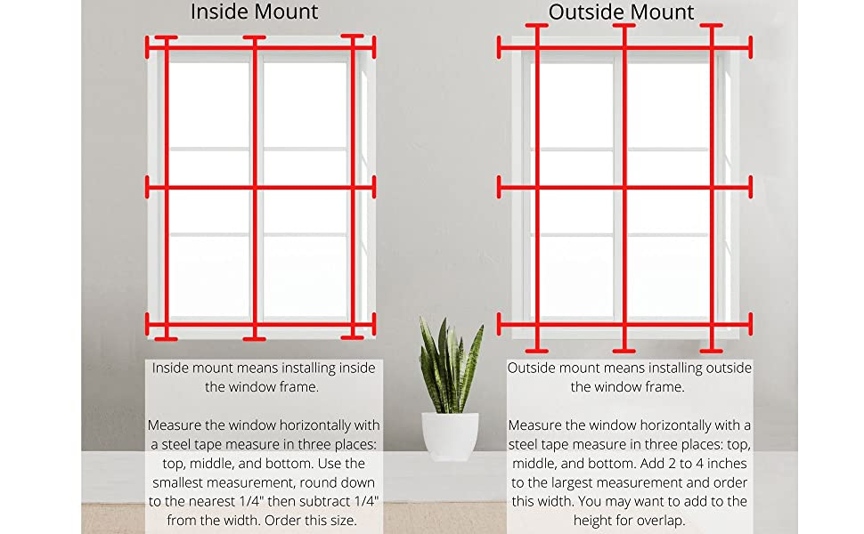 how to measure and order your cellular shades