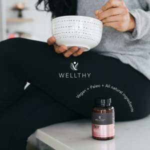 Her morning routine multi vitamin immune vegan paleo