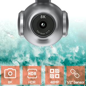 "Autel Robotics EVO 2 Drone 8K HDR Video 1/2"" Sensor"