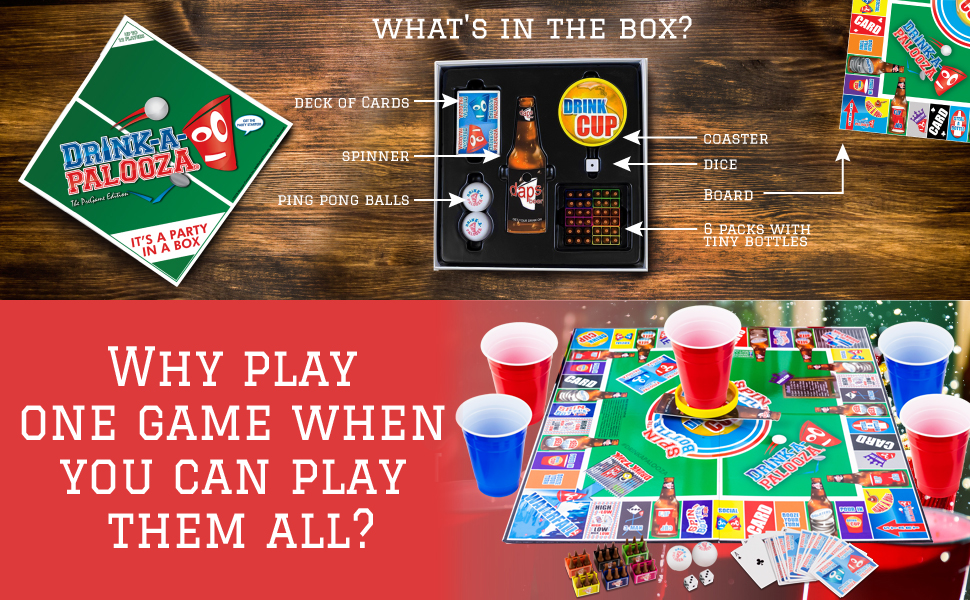 party games for adults board game night gifts for him, grown up games party
