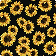 Sunflower flowers floral steering wheel cover for women car decorations for women wheel cover covers